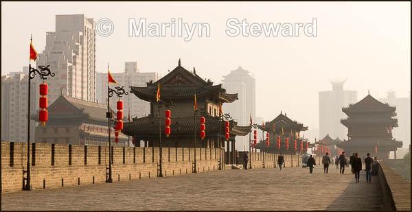 Xian city wall - China