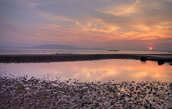 Adrossan beach - Ayrshire