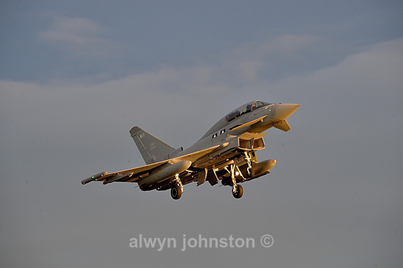 TYPHOON 14 - RAF LOSSIEMOUTH VISIT NOV 2017