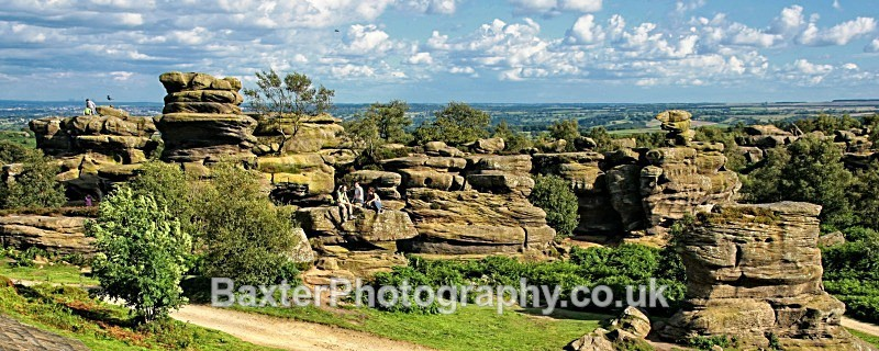 The Balance Of Nature (Panoramic Version) - Brimham Rocks and  Bolton Abbey