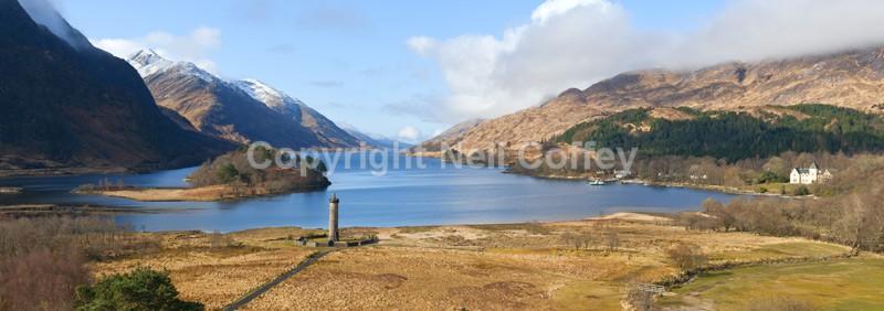Glenfinnan, Highland - Panoramic format