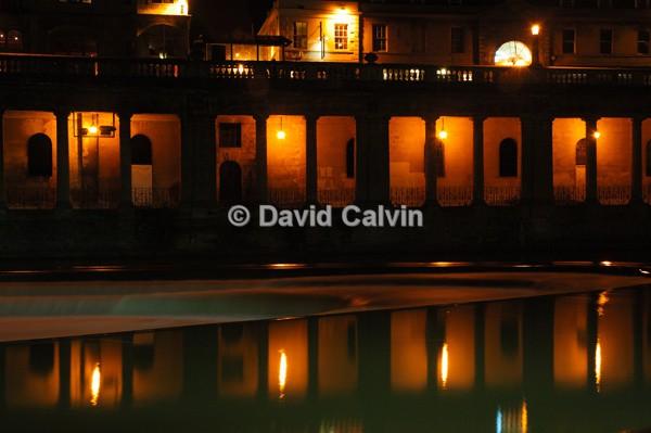 Pultney Weir, Bath - Nocturnal