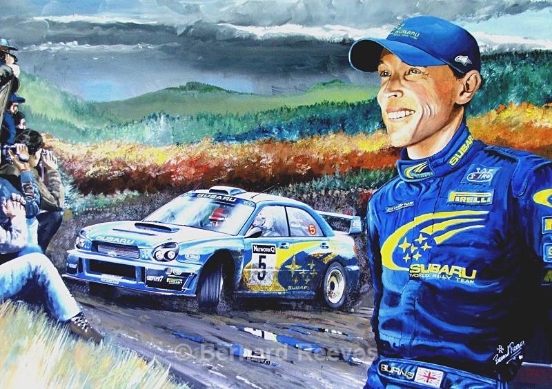 A tribute to Richard Burns. RAC rally - Rally cars & drivers