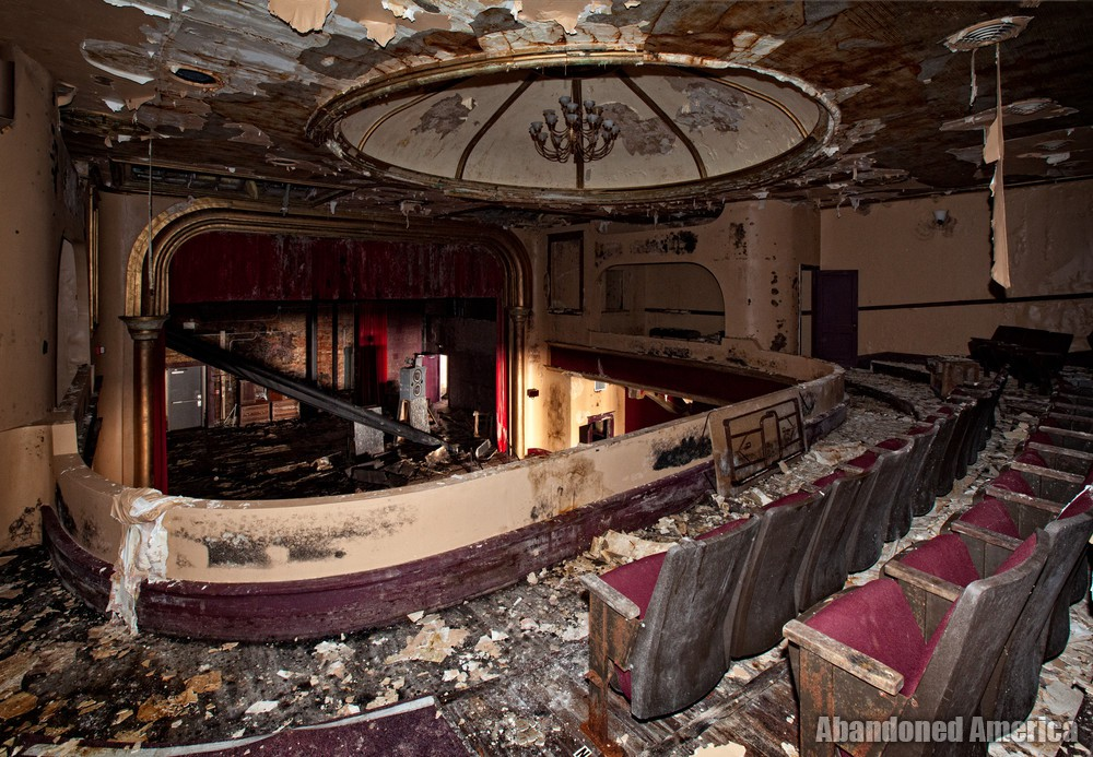 Garman Opera House (Bellefonte, PA) | Balcony View - The Garman Theater and Hotel Do De