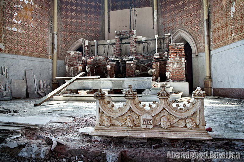 St. Boniface Church (Philadelphia, PA) | Altar Remnants - St. Boniface Church