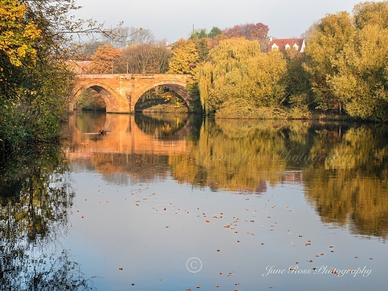 Autumn in Yarm - YARM-on-Tees, Cleveland