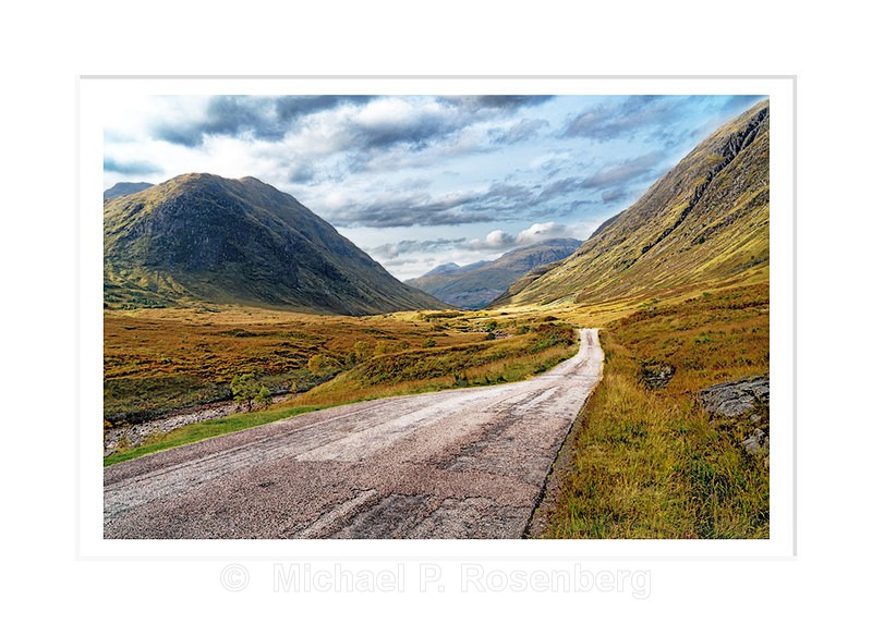 Skye Fall, Glencoe, Scotland - Scotland, UK