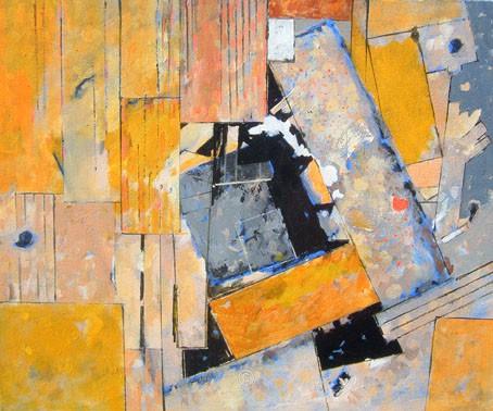 Yellow Driftwood. - David Pettigrew D.A.