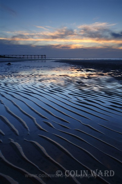 Blue sand ripples - North Yorkshire and Cleveland