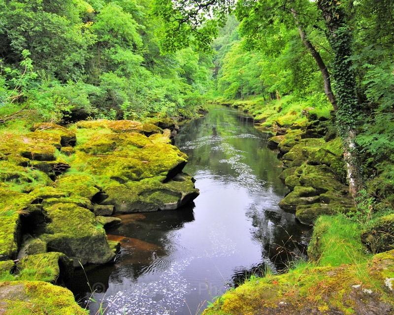 River Wharfe Bolton Abbey Yorkshire NIKON D40X 18mm f56 1-40 iso400 - Landscapes