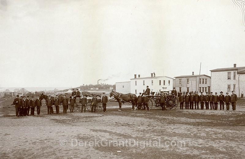 St. John Fire Department New Brunswick Canada 1880 John B. Wallace - Historic New Brunswick
