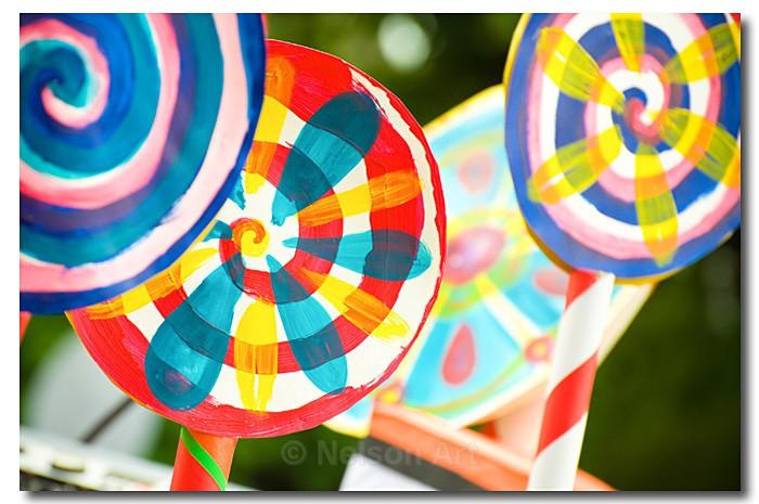 Giant Lollipops - Objects