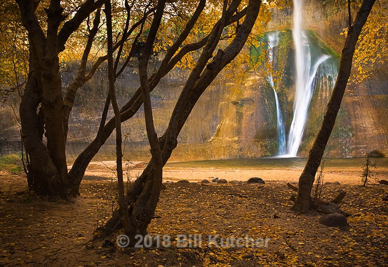 Lower Calf Creek Falls - Current Show