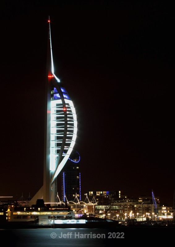 Spinnaker Tower, Portsmouth from Gosport waterfront (image SpinT 01) - Urban Landscapes & Buildings