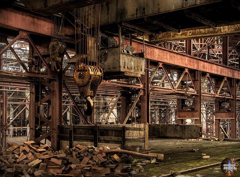 even the most brilliant metals rust - Birdsboro Steel