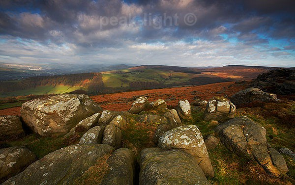 Patchwork Light - Peak District