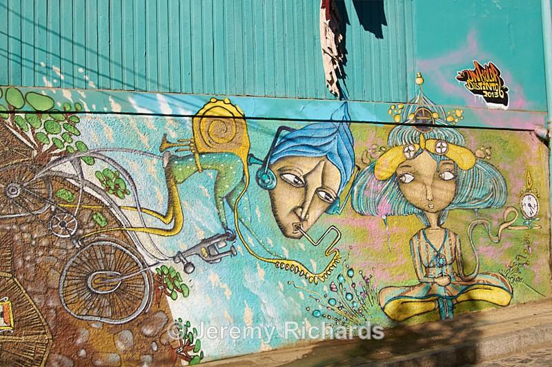 - Urban Art of Valparaiso