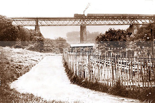 Viaduct, Morgan Glen. - Archive.