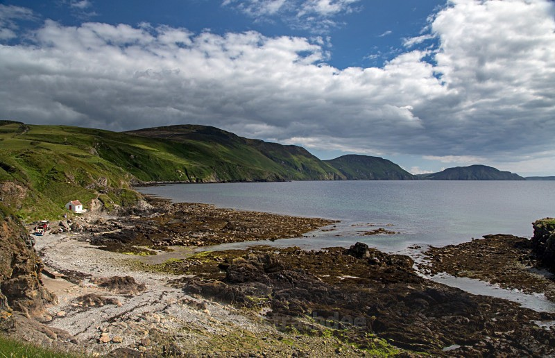 Niarbyl at Low Tide - Sea of Man