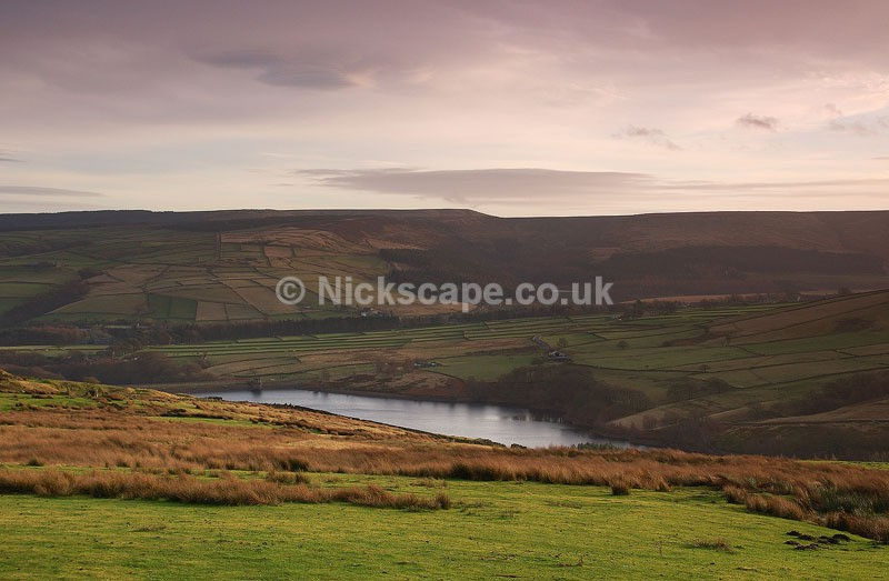 Digley Reservoir taken from Acres Lane | Yorkshire Landscape Gallery