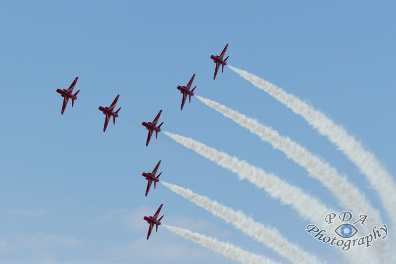 3 Red Arrows