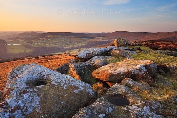 Knuckle Rock | Stanage Edge Location | Peak District