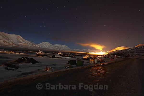 Longyearbyen 9446 - Polar night