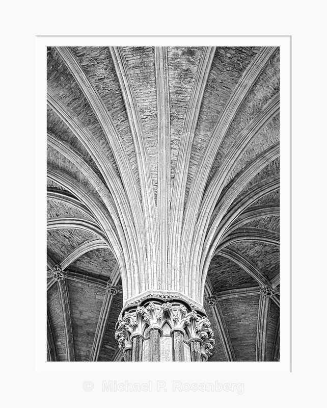 Radials, Chapter House, Ely Cathedral (2008/4954) - ENGLISH CATHEDRALS AND CHURCHES