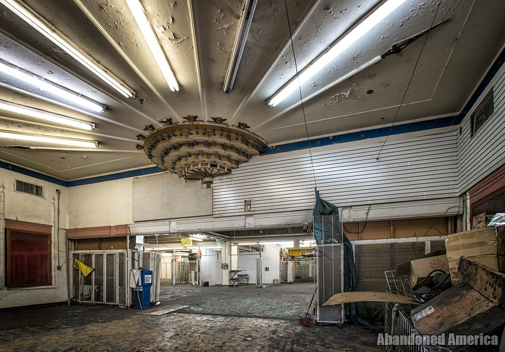 Lobby Lighting at The Westlake Theatre, Los Angeles, CA   Abandoned America