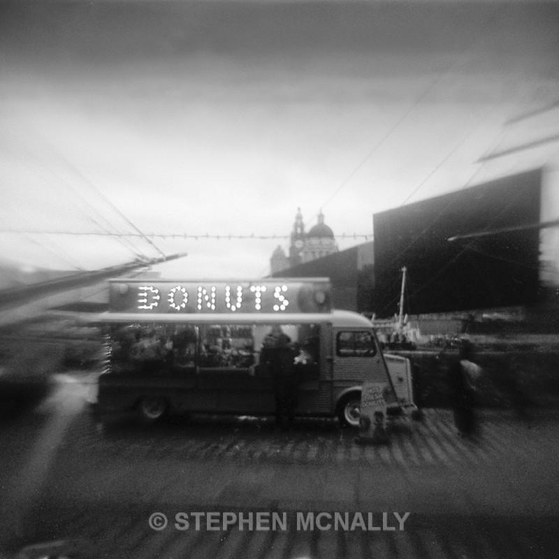 Donuts ,Albert Dock - Flipped Lens