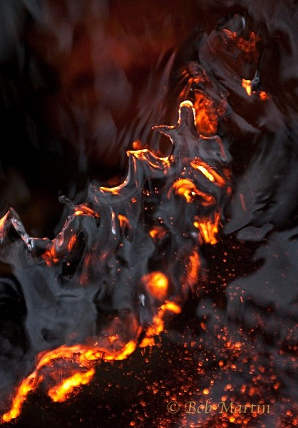 Ice Fire No. 4 - Fire and Ice (experimental - enter at your own risk!)