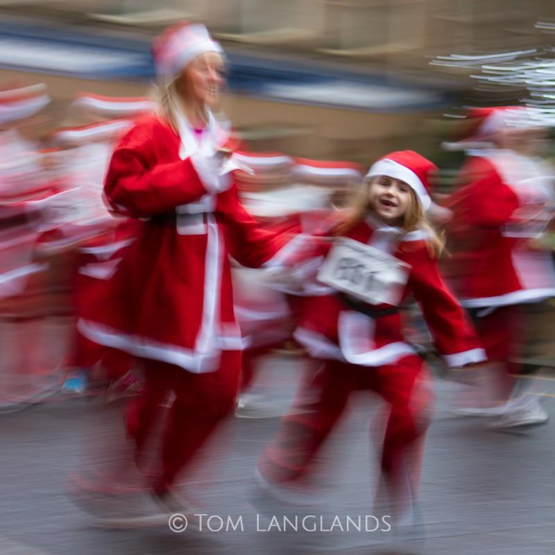 The Joy of Christmas: Santa Dash, Glasgow - Events