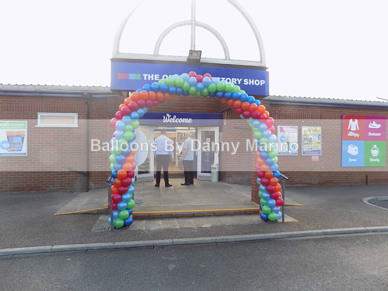 Rainbow Arch - General Balloons