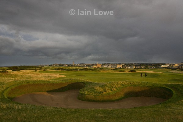 Old Course 14th Hell Bunker - St Andrews Old Course