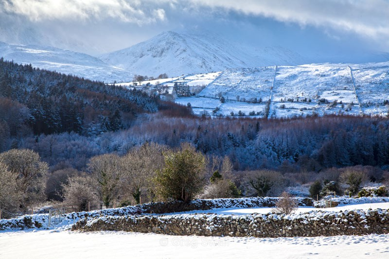 Deep Winter - The Mourne Mountains (Winter)
