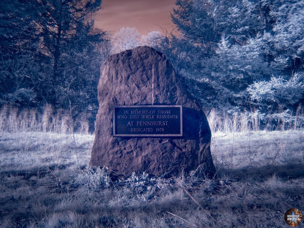 Pennhurst State School (Spring City, PA) | Memorial Plaque - Pennhurst State School and Hospital