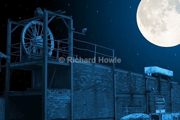 Moonlit Apedale - The Potteries by Moonlight