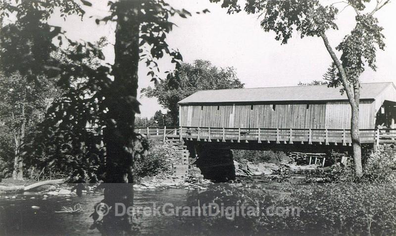 Nashwaaksis Covered Bridge - Historic New Brunswick