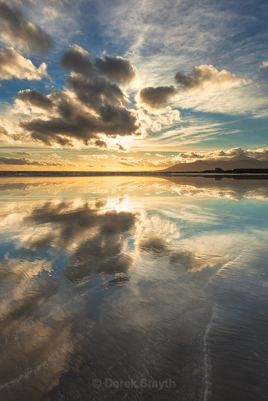 Tyrella Beach Reflection By Derek Smyth Photography