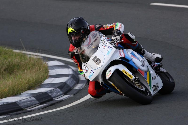 Bruce Anstey YZR500 Yamaha - Racing