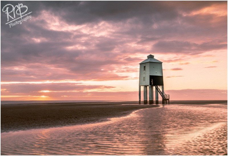 Burnham Lighthouse At Sunset - Wiltshire & West Country Landscapes