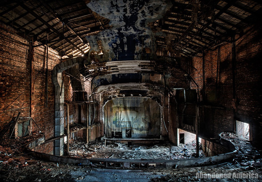 Gary, Indiana | Palace Theatre Stage View - Gary, Indiana