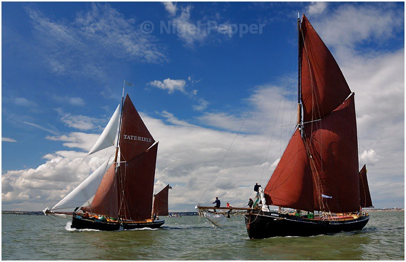 Racing Pair (2) - The Thames Barge Match