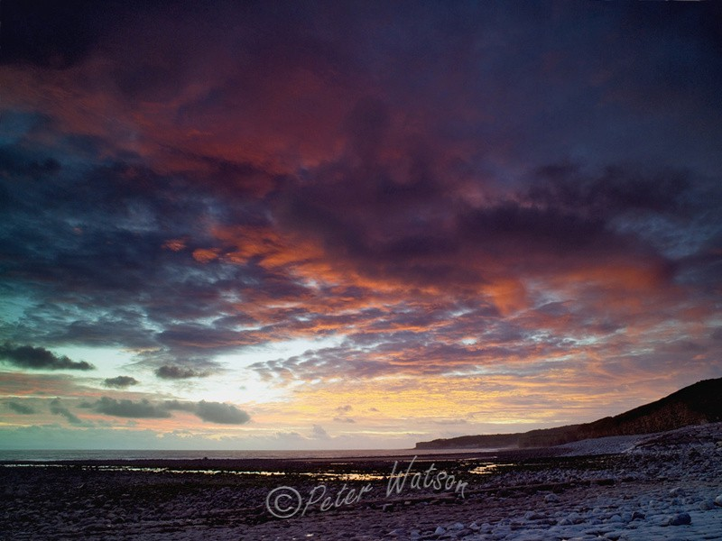 Llantwit Major Glamorganshire Wales - Sunsets & Skies
