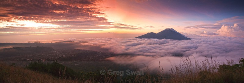 Dawn break from Gunung Batur - Volcano Dawn (Bali and Beyond)