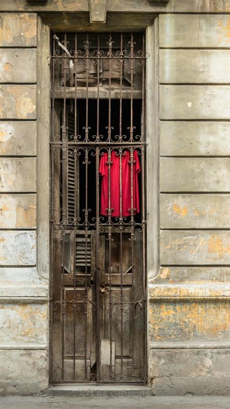 red dress - Cuba