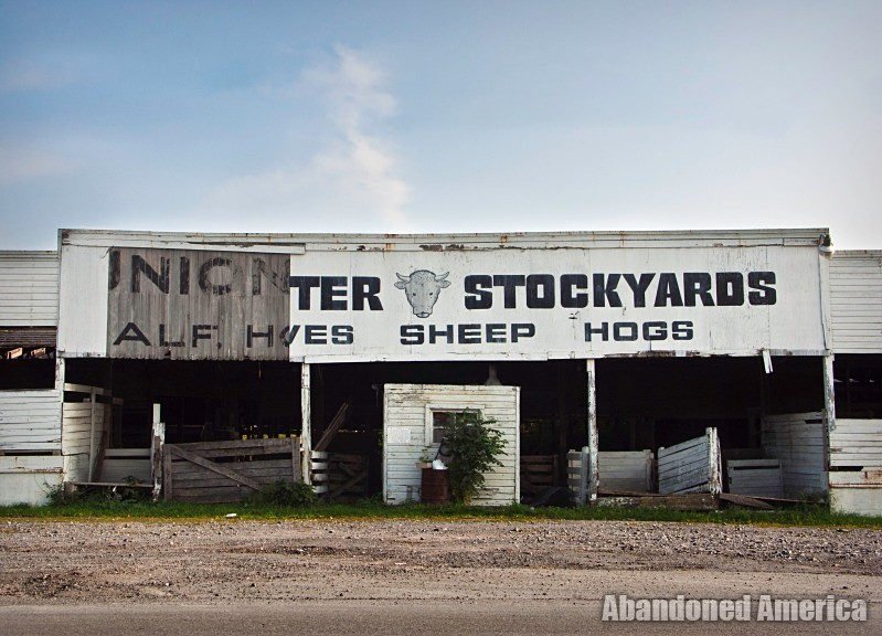 The Lancaster Stockyards | Stockyard Sign - Lancaster Stockyard