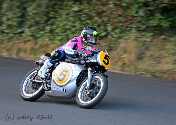 Bruce Anstey, Ginger Hall - Racing