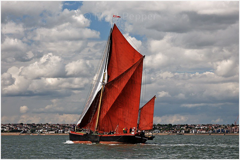 SB Repertor - The Thames Barge Match
