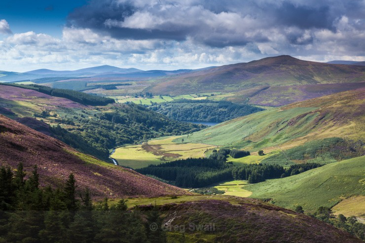 Into the Valley - Landscapes of Ireland - Glendalough and the Wicklow Mountains